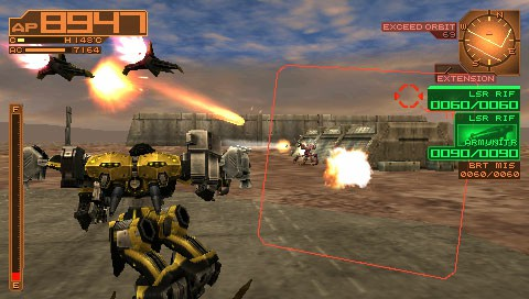 Armored Core Silent Line Portable PSP Download